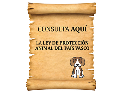 Consulta la Ley de Porteccion Animal del Pais Vasco